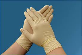 دستکش لاتکس آزمایشگاهی